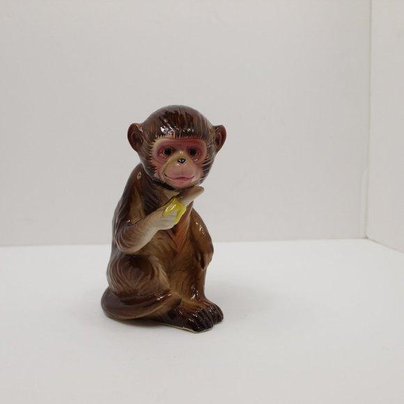 Vintage Hand Painted Monkey Japan